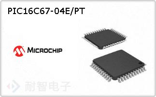 PIC16C67-04E/PT