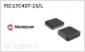 PIC17C43T-25/L