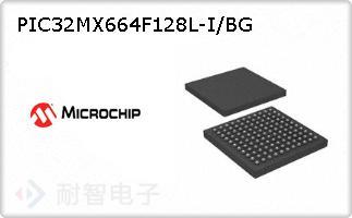 PIC32MX664F128L-I/BG